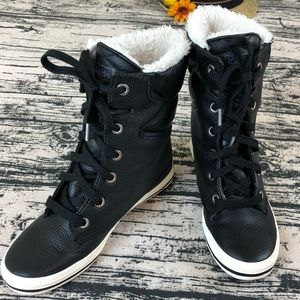 Keds High Top Sneaker/Booties, Size 7.